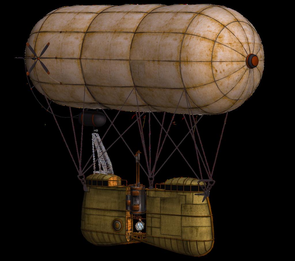 Steampunk balloon